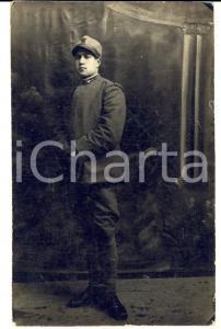 1917 ASSO (CO) Ritratto Mario MOLTENI 68° Reggimento Fanteria LEGNANO *Foto FP