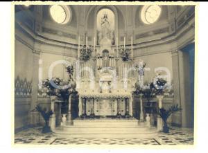 1930 ca GENOVA CARIGNANO Chiesa Sacro Cuore e S. Giacomo - Altare *Foto 12x10 cm