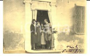 1930 FENILE (TO) Principe Umberto in visita al paese *Foto Nazionale
