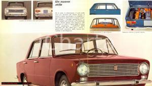 1966 - Libretto Pubblicitario FIAT 124