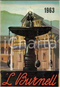 1963 'L BURNELL Calendario della famiglia biellese