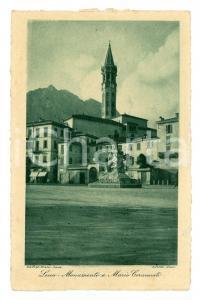 1940 LECCO Monumento a Mario Cermenati LEGGI BENE
