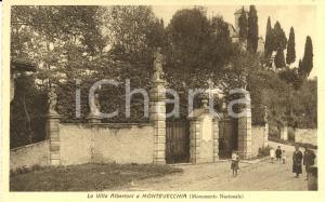 1935 MONTEVECCHIA Villa Albertoni SPLENDIDA ANIM.