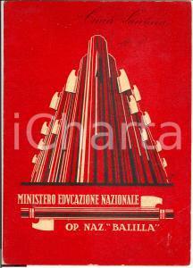 1932 ONB LECCO Pagella fascista Santina CIMA ill. GOBBO