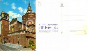 1965 ca PAVIA Facciata e campanile del duomo * Cartolina FG NV