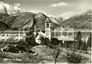 1960 ca COLICO (LC) Abbazia di PIONA su lago di COMO * Cartolina FG NV