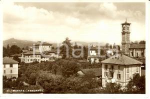 1960 ca MERATE (LC) Veduta panoramica del paese * Cartolina FG NV