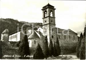 1960 ca COLICO (LC) Abside dell'abbazia di PIONA * Cartolina FG NV