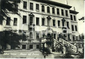 1959 SALICE TERME (PV) Filiale della clinica del lavoro * Cartolina FG VG