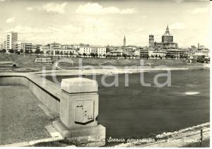 1956 PAVIA Scorcio panoramico con fiume TICINO * Cartolina FG VG