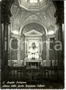 1960 ca SANT'ANGELO LODIGIANO (LO) Altare Santa Francesca CABRINI *FG NV