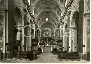 1960 ca LODI Interno del DUOMO verso l'altare *Cartolina ANIMATA FG NV