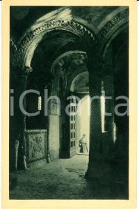 1942 CIVATE (LC) Interno complesso SAN PIETRO al MONTE *Cartolina ANIMATA FP NV