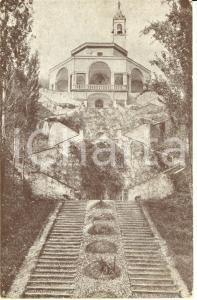 1910 ca IMBERSAGO (LC) Santuario della BEATA VERGINE DEL BOSCO *Cartolina FP NV