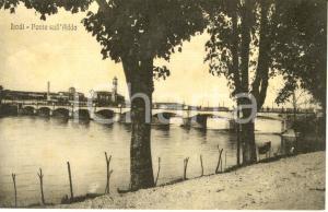1910 ca LODI Veduta del ponte sul fiume ADDA *Cartolina FP NV
