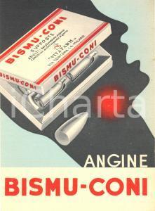 1953 Angine BISMU CONI Vitafarm cartoncino