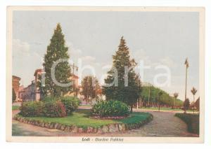 1935 LODI giardini pubblici colore FG VG