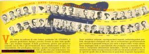 1940 Quotidiano LA STAMPA pieghevole promozionale
