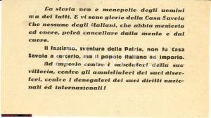 1946 Referendum Istituzionale Le glorie di Casa SAVOIA