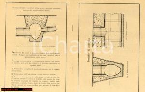 1929 SALONA D'ISONZO (GO) Canalizzazione Cementi Isonzo