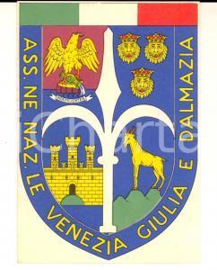 1965 Associazione Nazionale VENEZIA GIULIA E DALMAZIA *Tessera 8x11 cm
