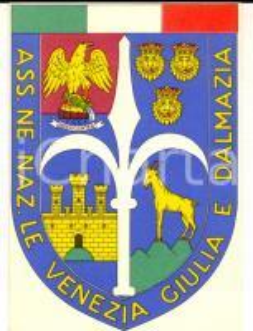 1964 Associazione Nazionale VENEZIA GIULIA E DALMAZIA *Tessera 8x11 cm