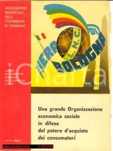 1956 FIERA DI BOLOGNA Pieghevole pubblicitario