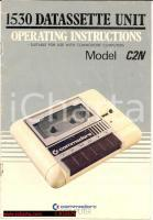 COMMODORE Datassette unit operating instructions