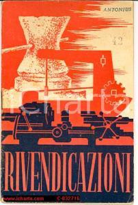 1944 RIVENDICAZIONI operaie - DC ante litteram?