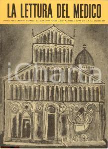 1957 MILANO LA LETTURA DEL MEDICO Laboratori FISM di Pietro PASOTTI Anno XV n° 3