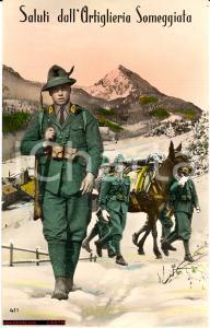 1939 Alpini Artiglieria Someggiata aggiunta colore