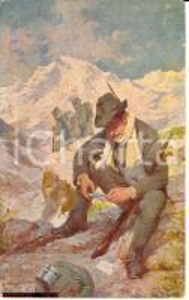 1915 Alpini WW1 - Illustrata A. Marchisio