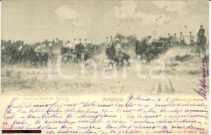 1907 Artiglieria in battaglia *Animata d'epoca VG