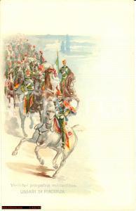 1910 Ussari Piacenza - 18° Cavalleria *Illustrata