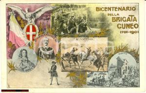 1901 Brigata Cuneo - Bicentenario 7° Reggimento