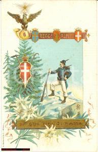 1910 Alpini - 6° Reggimento *Bella illustrazione