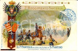 1909 Brigata Cuneo - 7° Regg Fanteria *San Martino