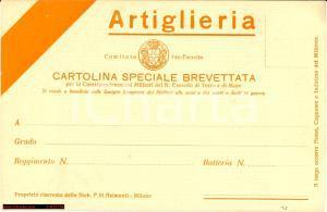WW1 CARTOLINA SPECIALE BREVETTATA intonsa nv
