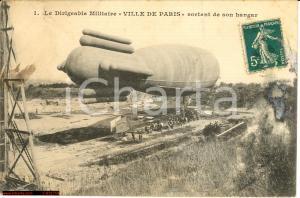 1911 Dirigeable militaire Ville de Paris FP VG