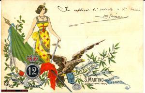 1903 - 12° Reg.to Fanteria Casale *illustrata Rino
