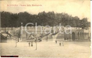 1917 BOLOGNA Scalea della Montagnola - Animata FP VG