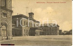 1921 BOLOGNA Piazzale della Stazione Centrale FP VG