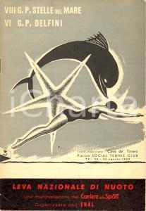1963 Leva Nazionale di Nuoto - Concorsi
