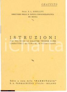 1940 Bosellini MALATTIE VENEREE Farmitalia
