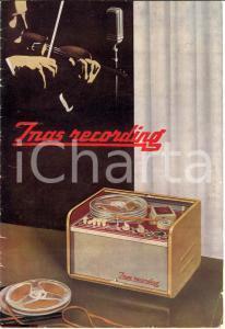 1950 INAS RECORDING Opuscolo pubblicitario