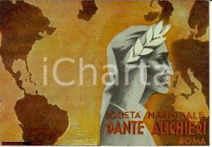 1935 Tessera Dante Alighieri, ill. LANFRANCO FELIN