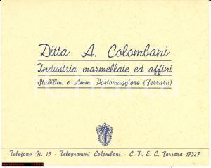 1930 Portomaggiore (FE) Marmellate Jolly Colombani