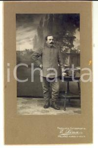 1915 ca WW1 MILANO Militare 22° Reggimento Fanteria CREMONA *Foto E. DINA