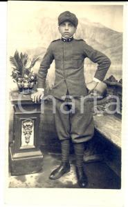 1915 ca WW1 VIPACCO (Slovenia) Militare 3° Reggimento GENIO *Foto Antonio VILLAR