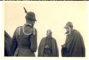 1940 ca WW2 5° Reggimento ALPINI Col. Carlo FASSI ten. MANFREDI e magg. CERUTTI